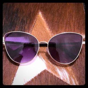 Dark purple lens Sunglasses